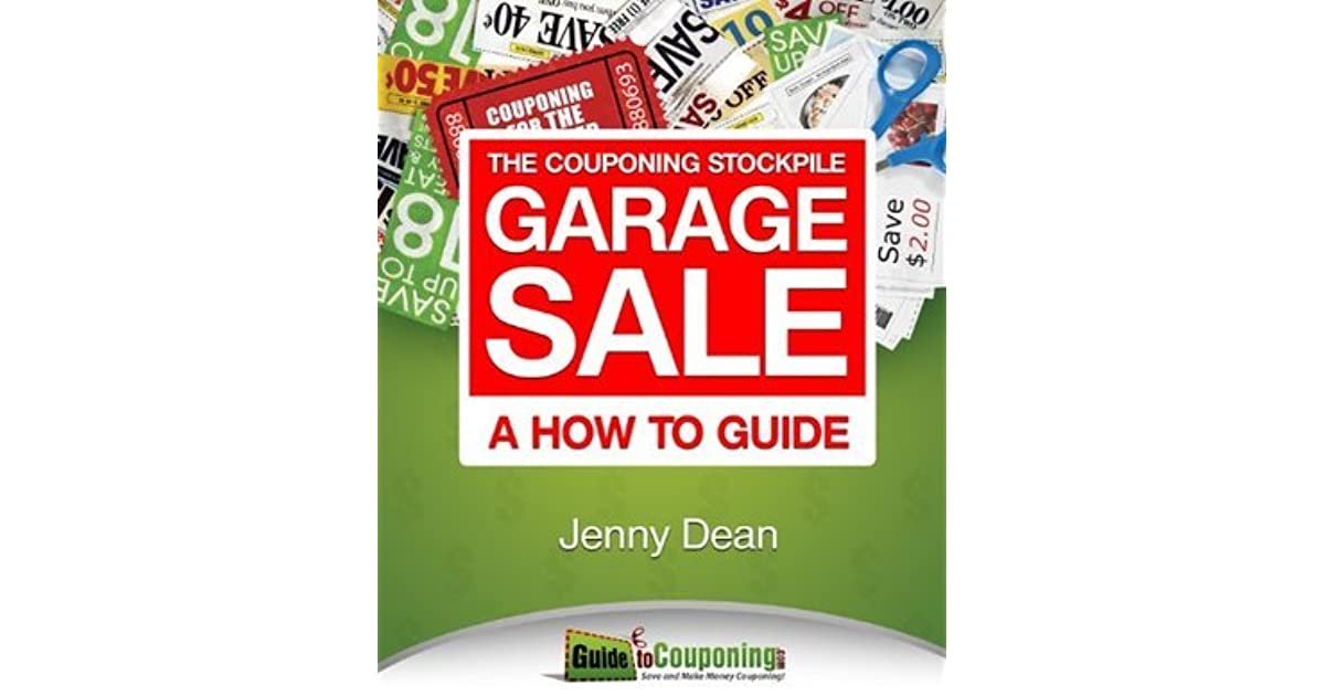 The Couponing Stockpile Garage Sale A How To Guide By Jenny Dean