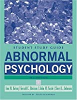 Abnormal Psychology, Study Guide