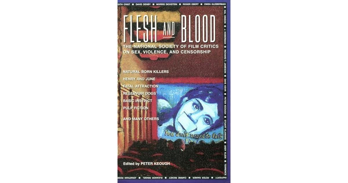 Blood critic film flesh national sex society