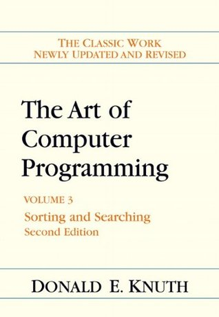 The Art of Computer Programming: Volume 3: Sorting and Searching