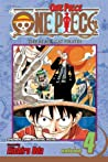 One Piece, Volume 4: The Black Cat Pirates
