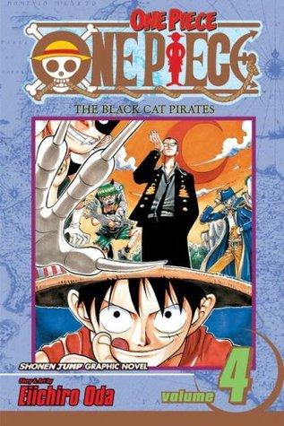 One Piece, Volume 04: The Black Cat Pirates