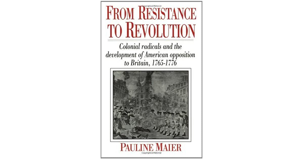 Paul The United Statess Review Of From Resistance To Revolution