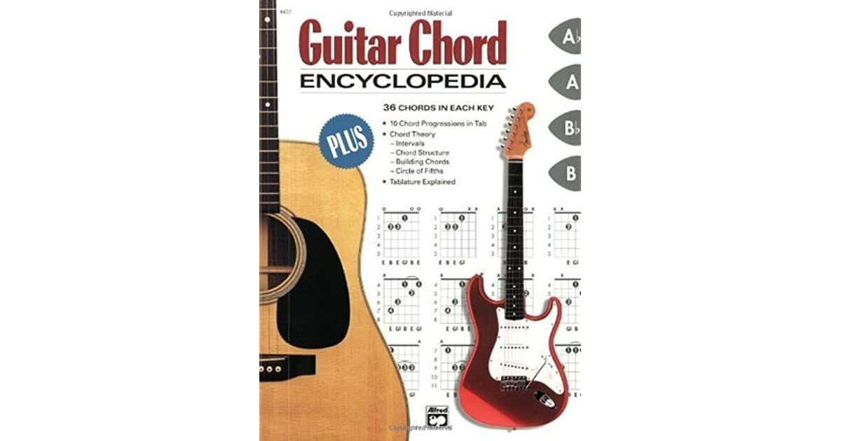 Guitar Chord Encyclopedia 36 Chords In Each Key By Steve Hall