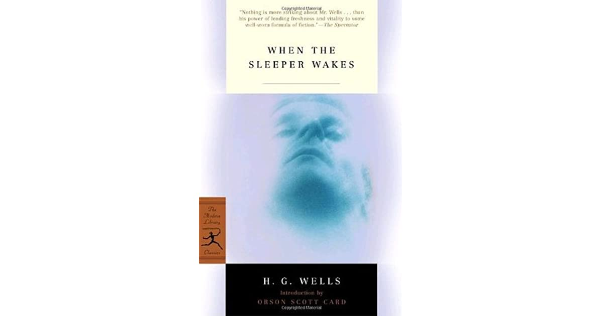 When the sleeper wakes by hg wells fandeluxe Images