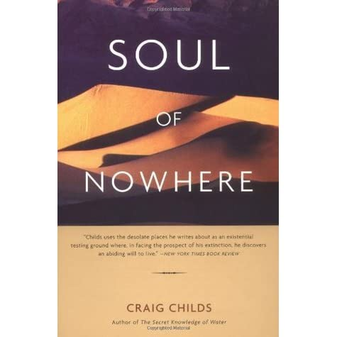 Soul of Nowhere by Craig Childs