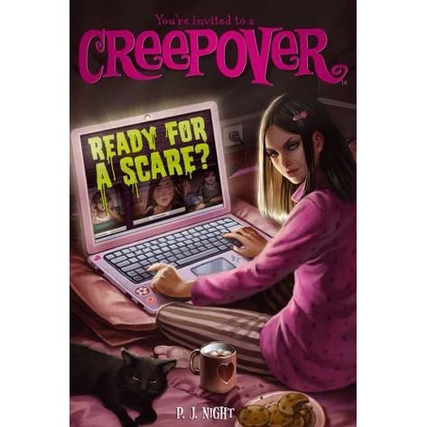 Ready For A Scare?: Book 3 (Creepover)