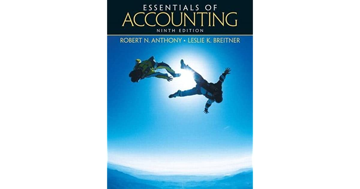 Essentials of accounting by robert n anthony fandeluxe Gallery