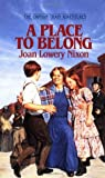 A Place to Belong (Orphan Train Adventures, #4)