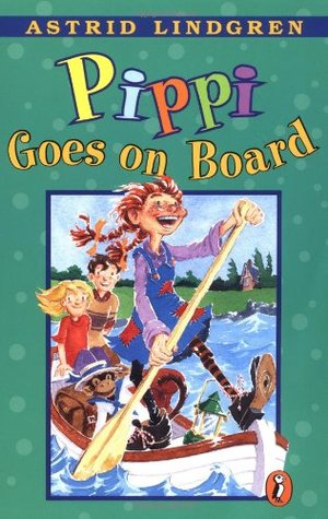 Checking Out Pippi Longstocking From >> Pippi Goes On Board By Astrid Lindgren