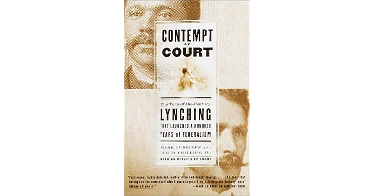 contempts of courts