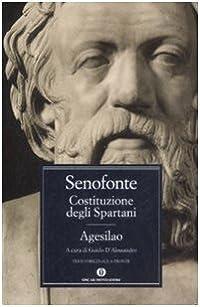 Costituzione degli Spartani - Agesilao: Testo greco a fronte