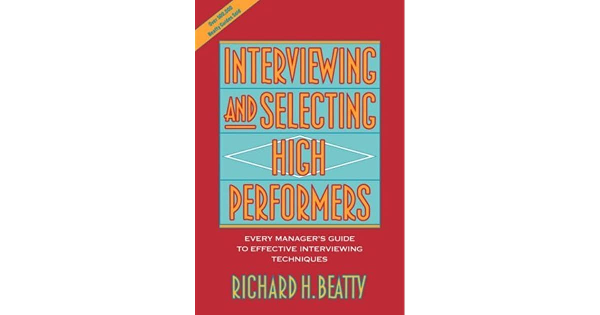 books on interviewing techniques