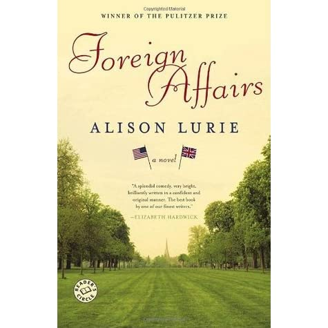 foreign affairs by allison laurie Foreign affairs by alison lurie starting at $099 foreign affairs has 10 available editions to buy at half price books marketplace.