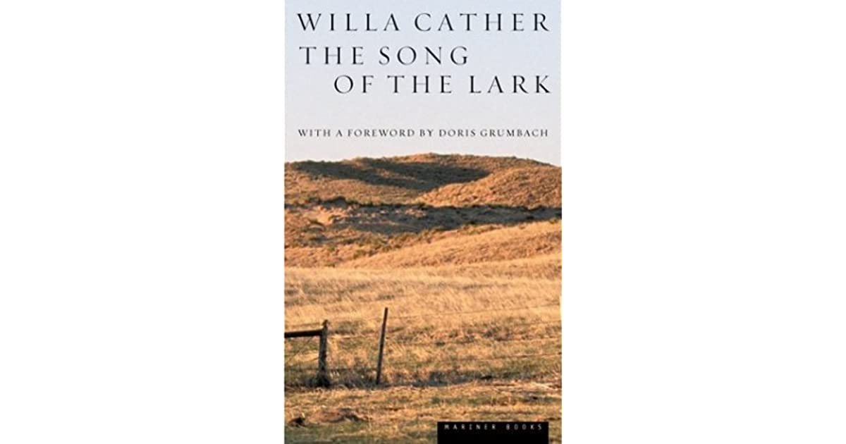 Download The Song Of The Lark Great Plains Trilogy 2 By Willa Cather