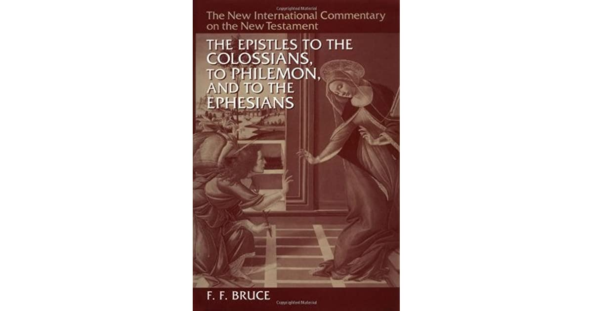 The epistles to the colossians to philemon and to the ephesians by the epistles to the colossians to philemon and to the ephesians by ff bruce fandeluxe Images