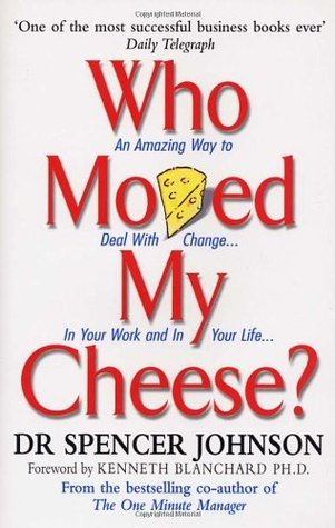 Book cover who moved my cheese