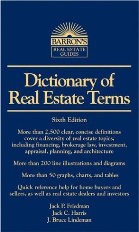 Dictionary of Real Estate Terms, 5th edition