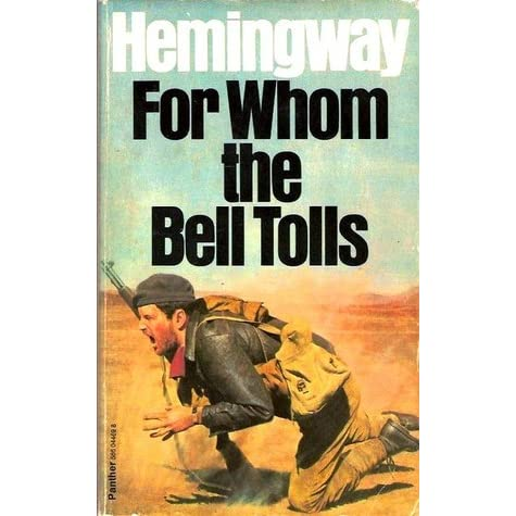 for whom the bell tolls summ essay And jordan, who had lived until then mainly for the ceremony of risking his life, now knew that, though he would still fight for the cause, he no longer wished to court commentary hemingway once worked as a reporter covering the spanish civil war for whom the bell tolls was the most famous book to.