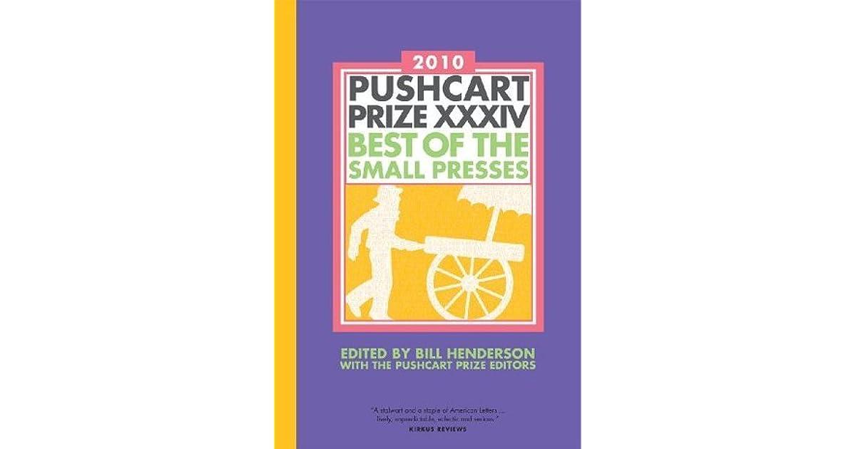 Bill Henderson the Pushcart Prize Editors