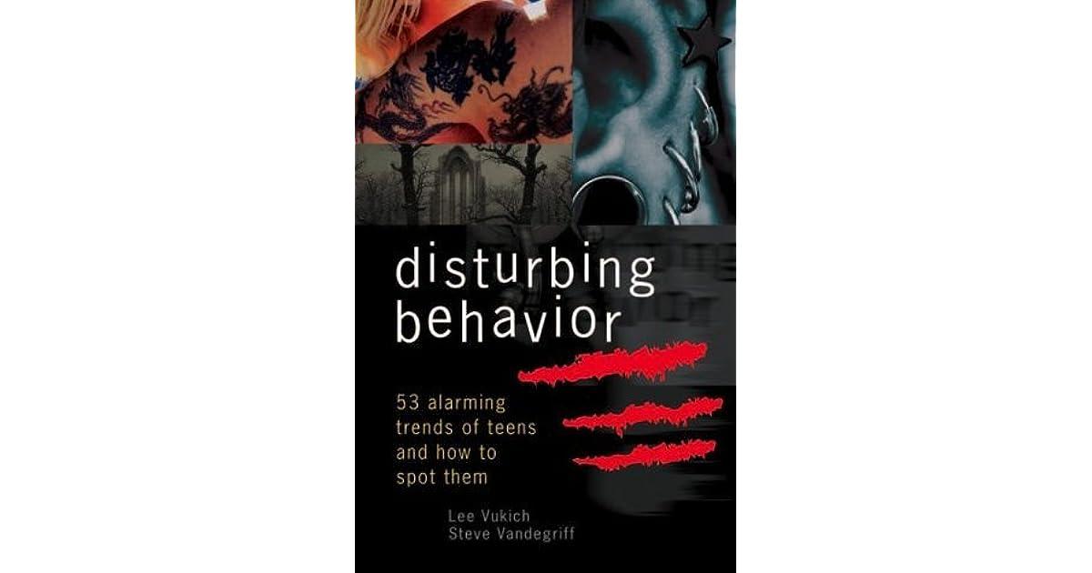 distrubed and distrubing behaviour Find great deals on ebay for disturbing behavior shop with confidence.