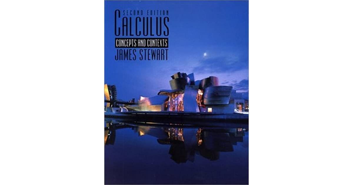 Calculus concepts and contexts with cd rom by james stewart fandeluxe Image collections