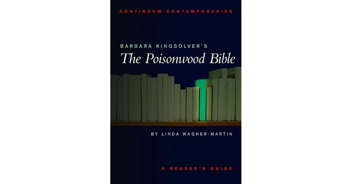 literary analysis essay poisonwood bible Chs - home - ap literature - prose analysis - the poisonwood bible the poisonwood bible which characters from novels and plays of literary merit are.