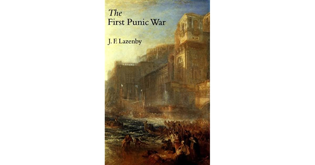 jf lazenby the first punic war