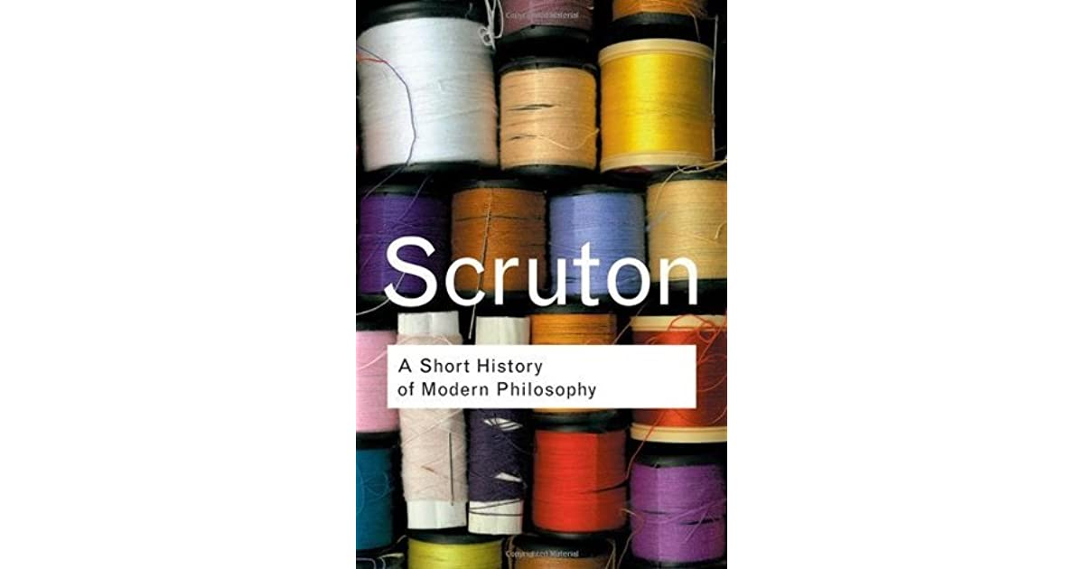 A short history of modern philosophy by roger scruton fandeluxe Ebook collections