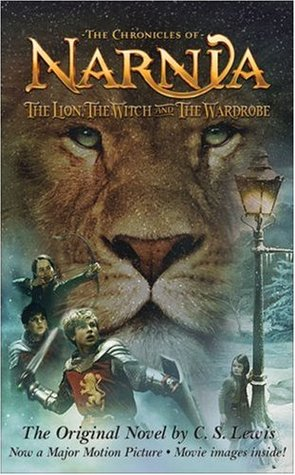 Book cover for The Lion, the With and the Wardrobe
