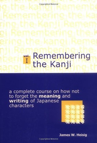 Remembering the Kanji, Volume I: A Complete Course on How Not to Forget the Meaning and Writing of Japanese Characters