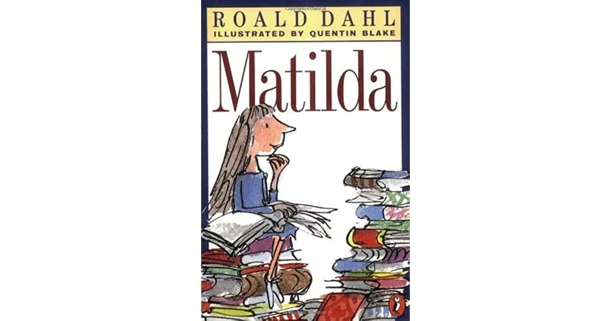 Matilda by roald dahl fandeluxe Choice Image