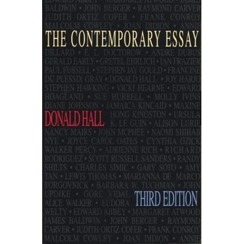 the contemporary essay by donald hall