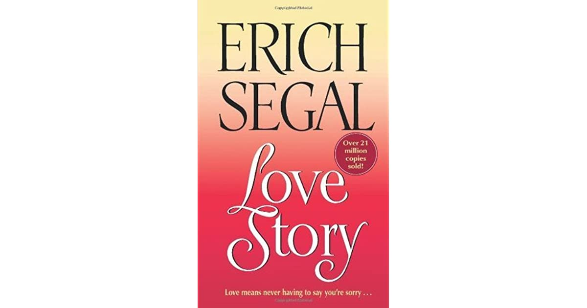 Love Story Love Story 1 By Erich Segal