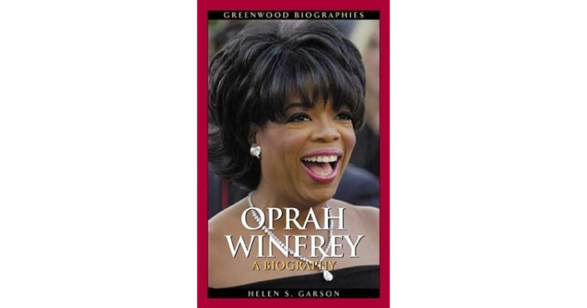 oprah winfrey bio with work cited Oprah winfrey, producer: the oprah while winfrey has been cited as the richest african-american of the 20th century how much of oprah winfrey's work have you.