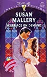 Marriage on Demand (Hometown Heartbreakers, #2)