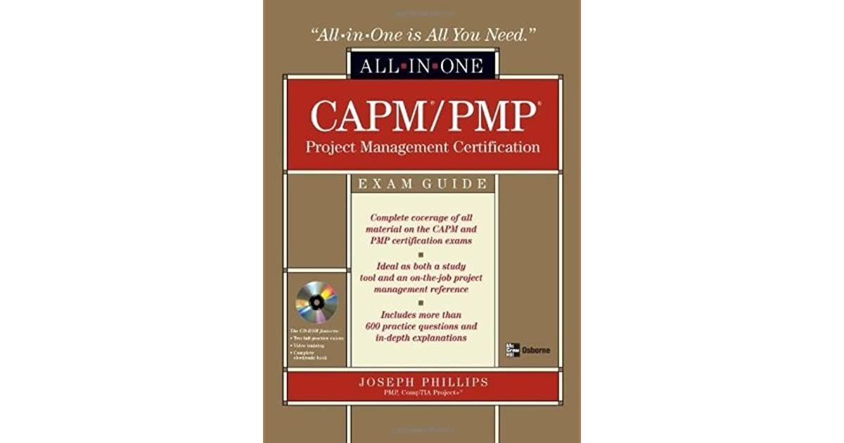 Capmpmp Project Management All In One Exam Guide By Joseph Phillips