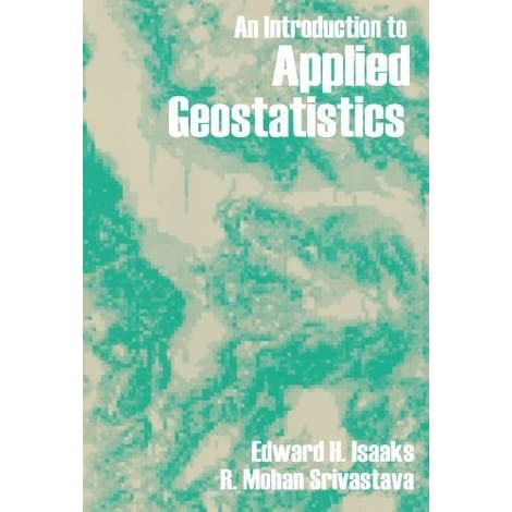 An Introduction To Applied Geostatistics Pdf
