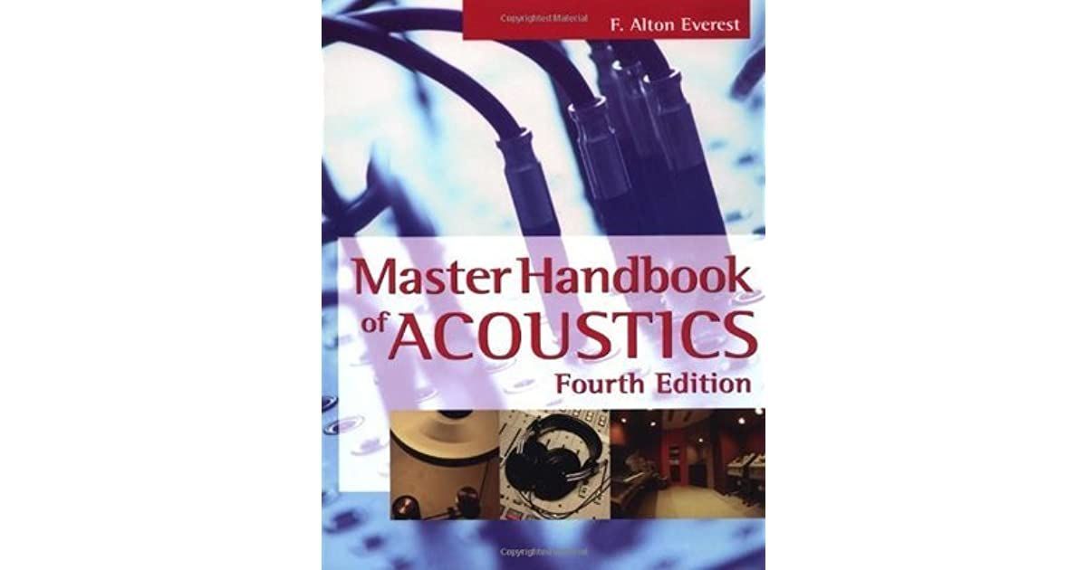 Master Handbook Of Acoustics By F Alton Everest border=