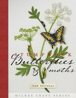 Stumpwork Butterflies  Moths