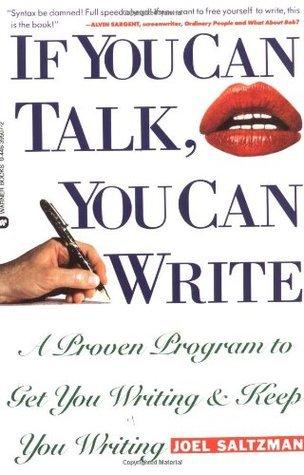 If You Can Talk, You Can Write - Joel Saltzman