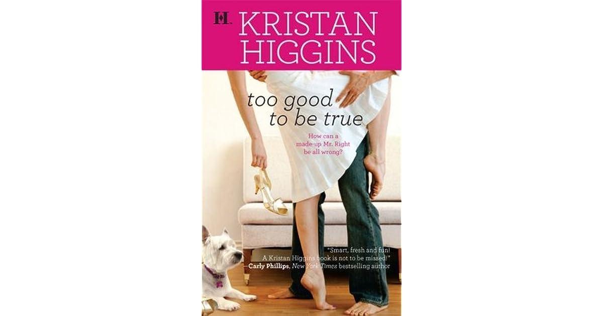Too Good To Be True Kristan Higgins Pdf