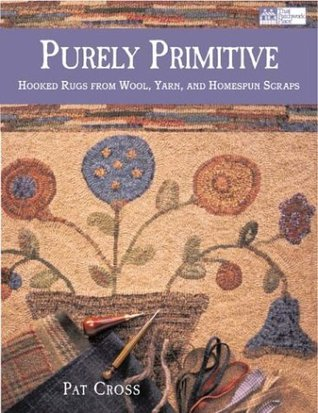 Purely Primitive Hooked Rugs From Wool Yarn And Homespun