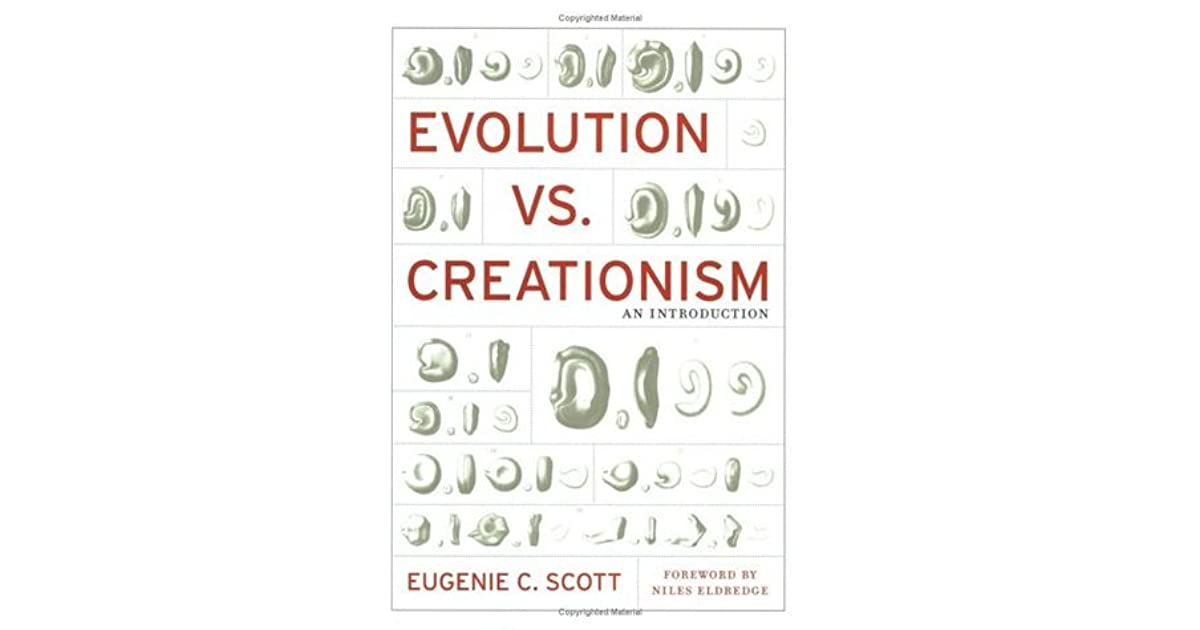 Evolution vs creationism an introduction by eugenie c scott fandeluxe Choice Image