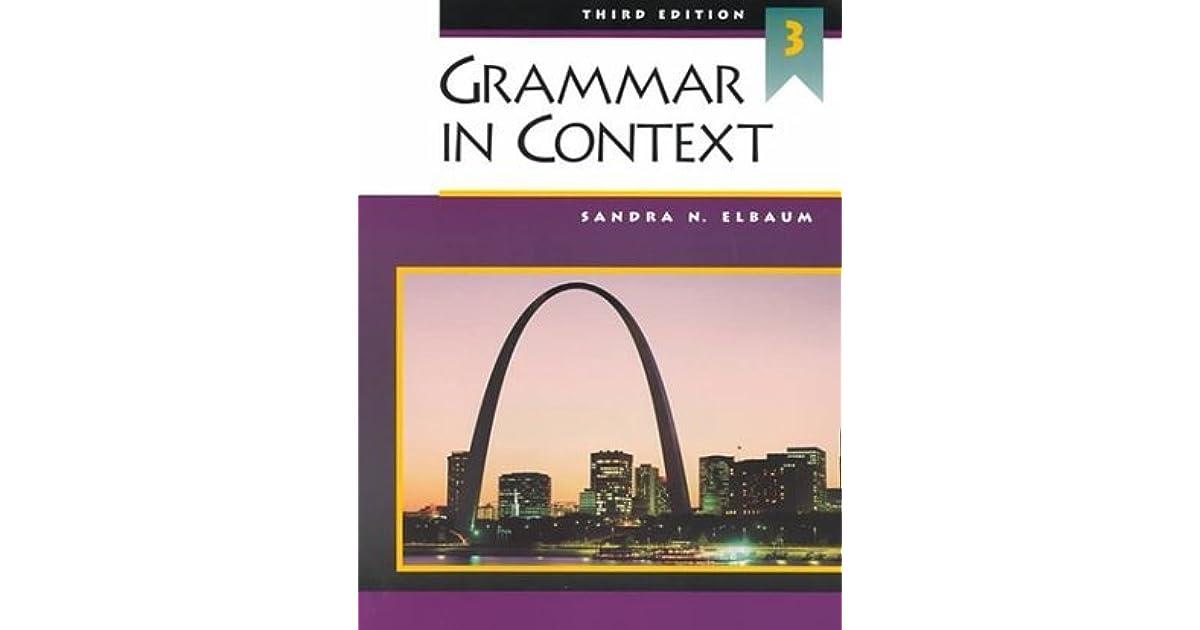 Grammar In Context 3 5th Edition Pdf