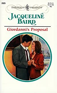Giordanni's Proposal (Harlequin Presents, 2029)