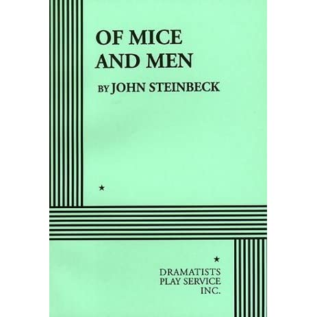 a review of the book of mice and men by john steinbeck This book of 120 pages is a treasure where the author dives deep into  my  thoughts about of mice and men by john steinbeck (book review.