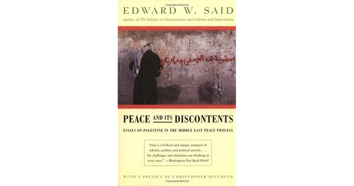 peace in middle east essay Peace is eventually going to come to this troubled region of the earth but not in the way many expect what does the bible say about peace in the middle east.