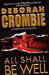 All Shall Be Well (Duncan Kincaid & Gemma James, #2)
