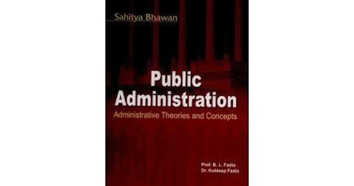 Fadia And Fadia Public Administration Pdf Download